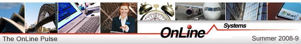 OnLine Pulse Summer 2008-9 banner